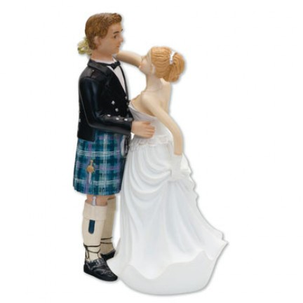 A - BRIDE & GROOM SCOTTISH
