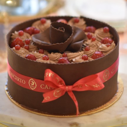 STRAWBERRY AND CHOCOLATE GATEAUX