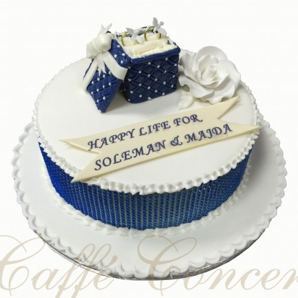 A - ENGAGEMENT CAKE