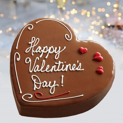 Chocolate Gateaux Heart