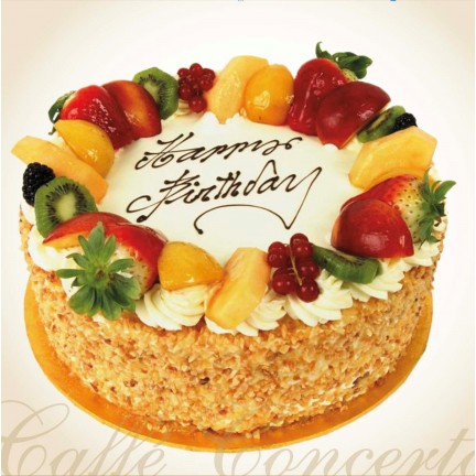 A - MIXED FRUIT GATEAUX
