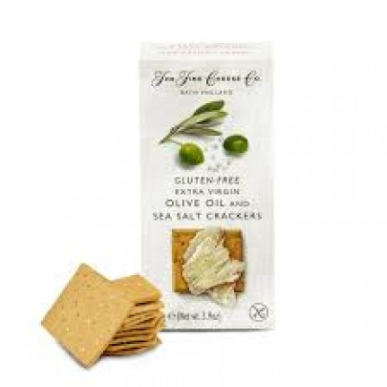 OLIVE OIL AND SEA SALT CRACKERS - THE FINE CHEESE CO