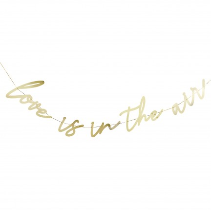 'Love is in the Air' Banner