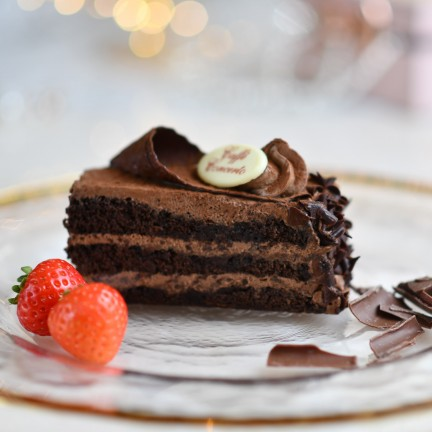 Chocolate Gateaux Slice